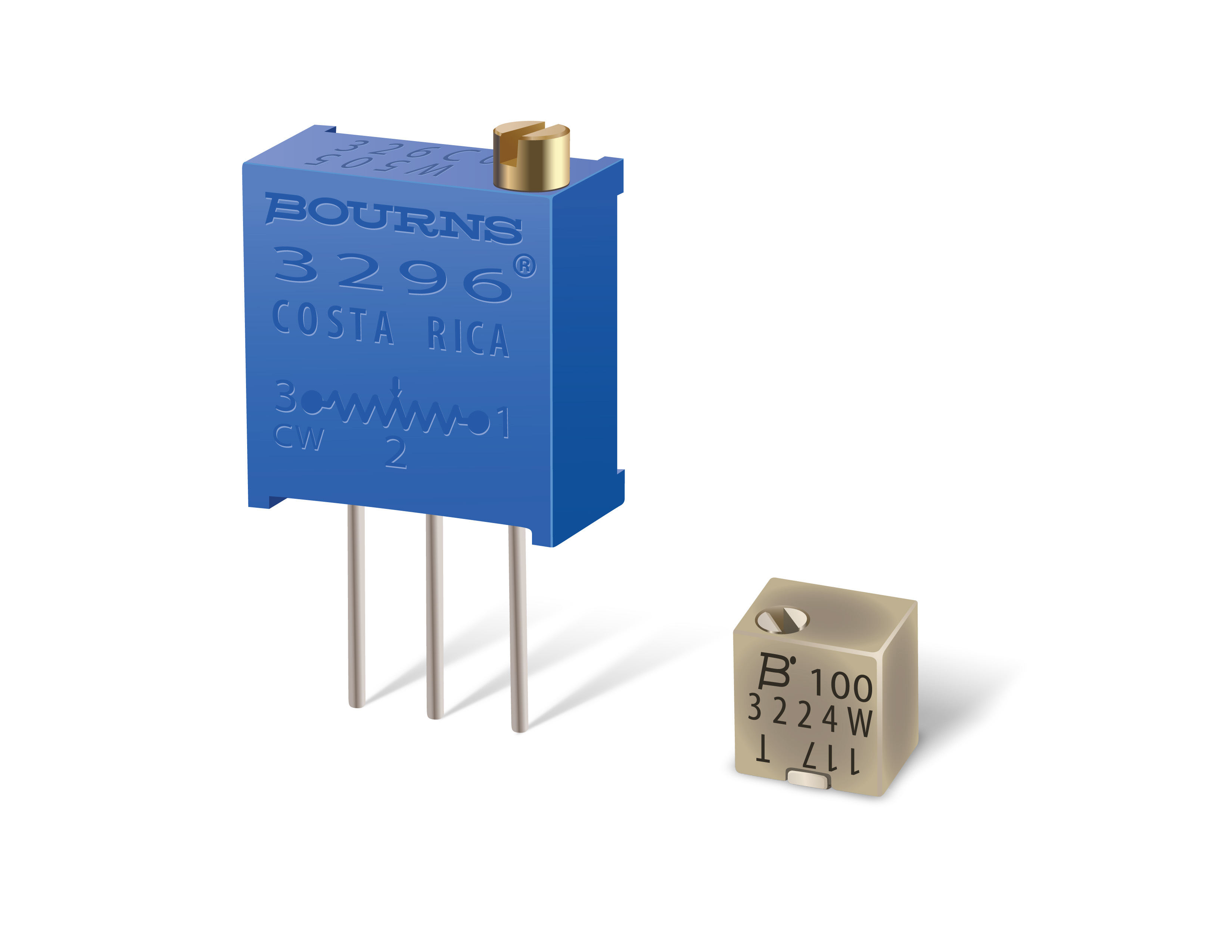 Bourns - Bourns New Trimming Potentiometers Offer
