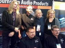 Seymour Duncan at the Bourns NAMM booth