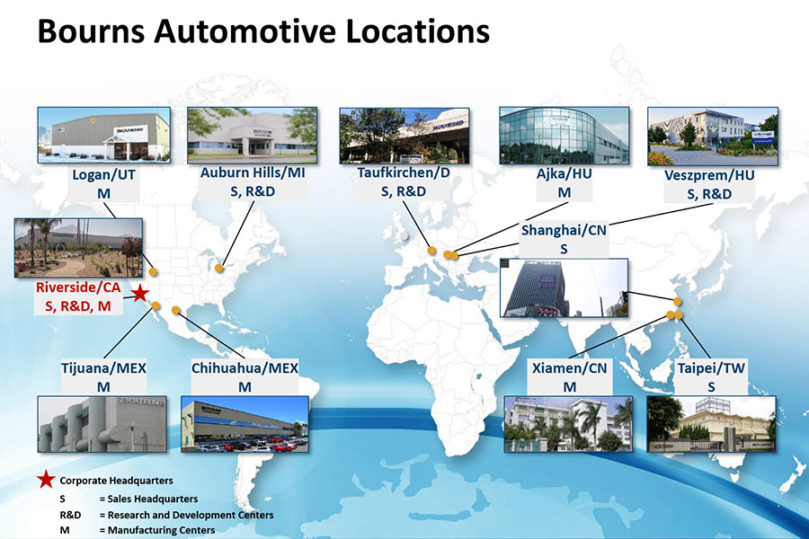 Automotive Locations